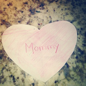 My valentine this morning.